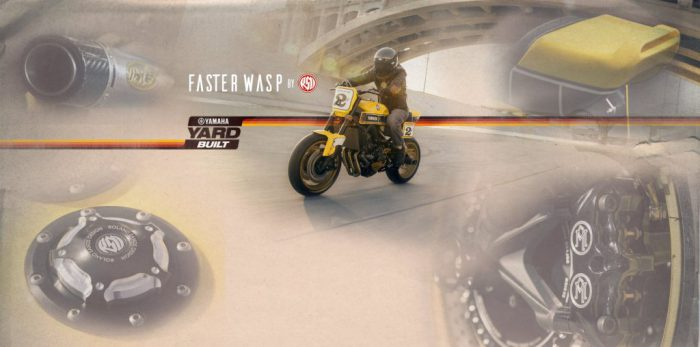 YAMAHA ヤードビルト MT-09 ダートトラッカー 「Faster Wasp」 by Roland Sands