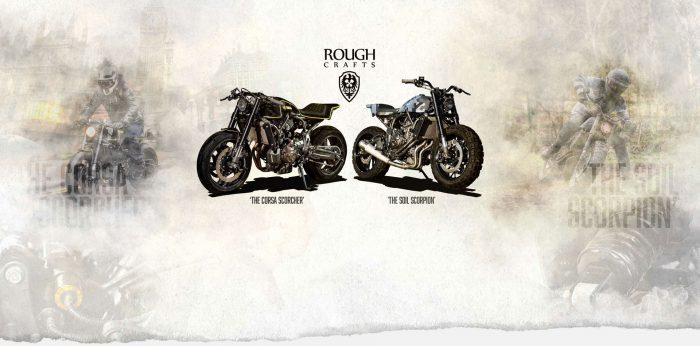 YAMAHA ヤードビルト XSR700 カフェレーサー&スクランブラー 'Double-style' by Rough Crafts