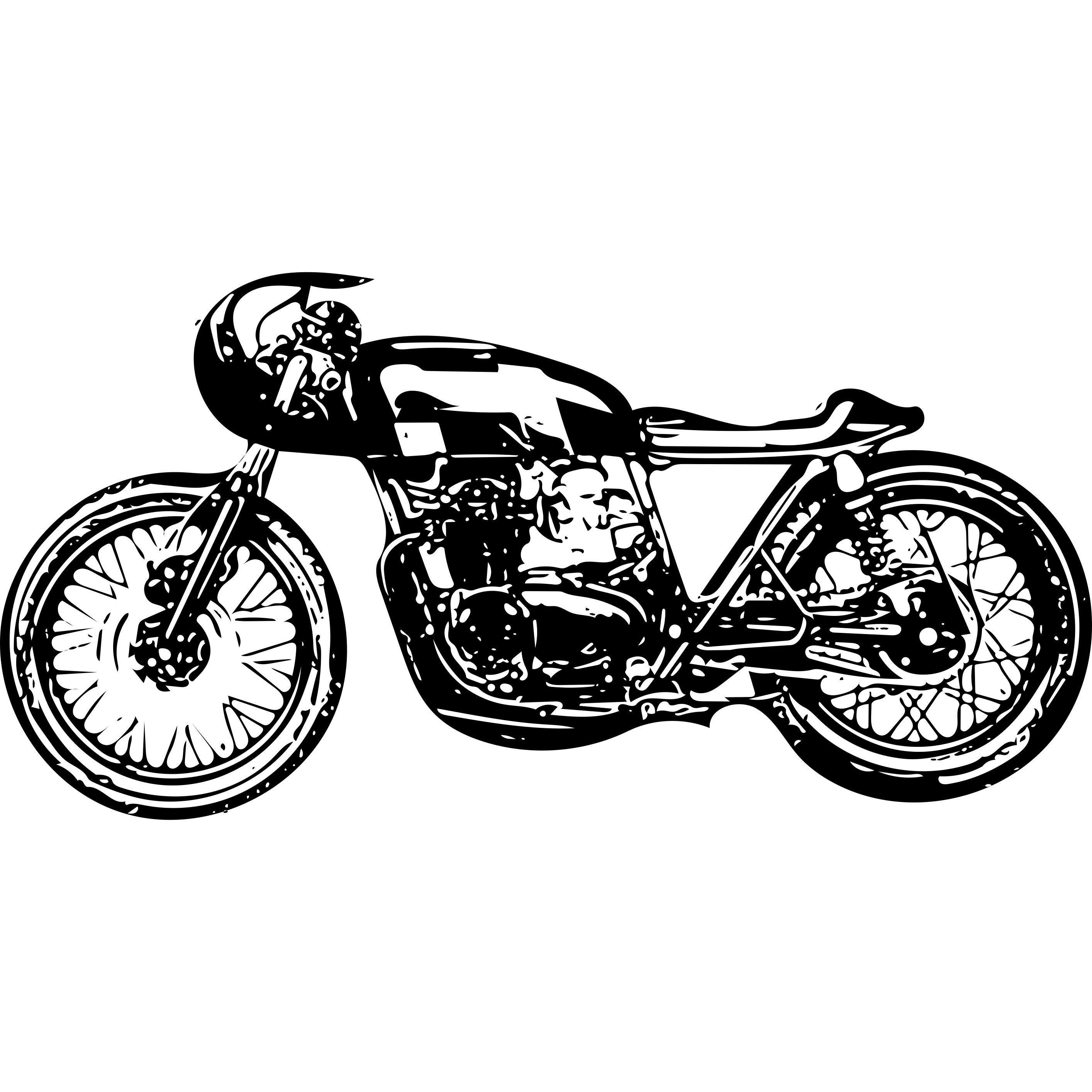 カフェレーサーカスタムに最適なバイク