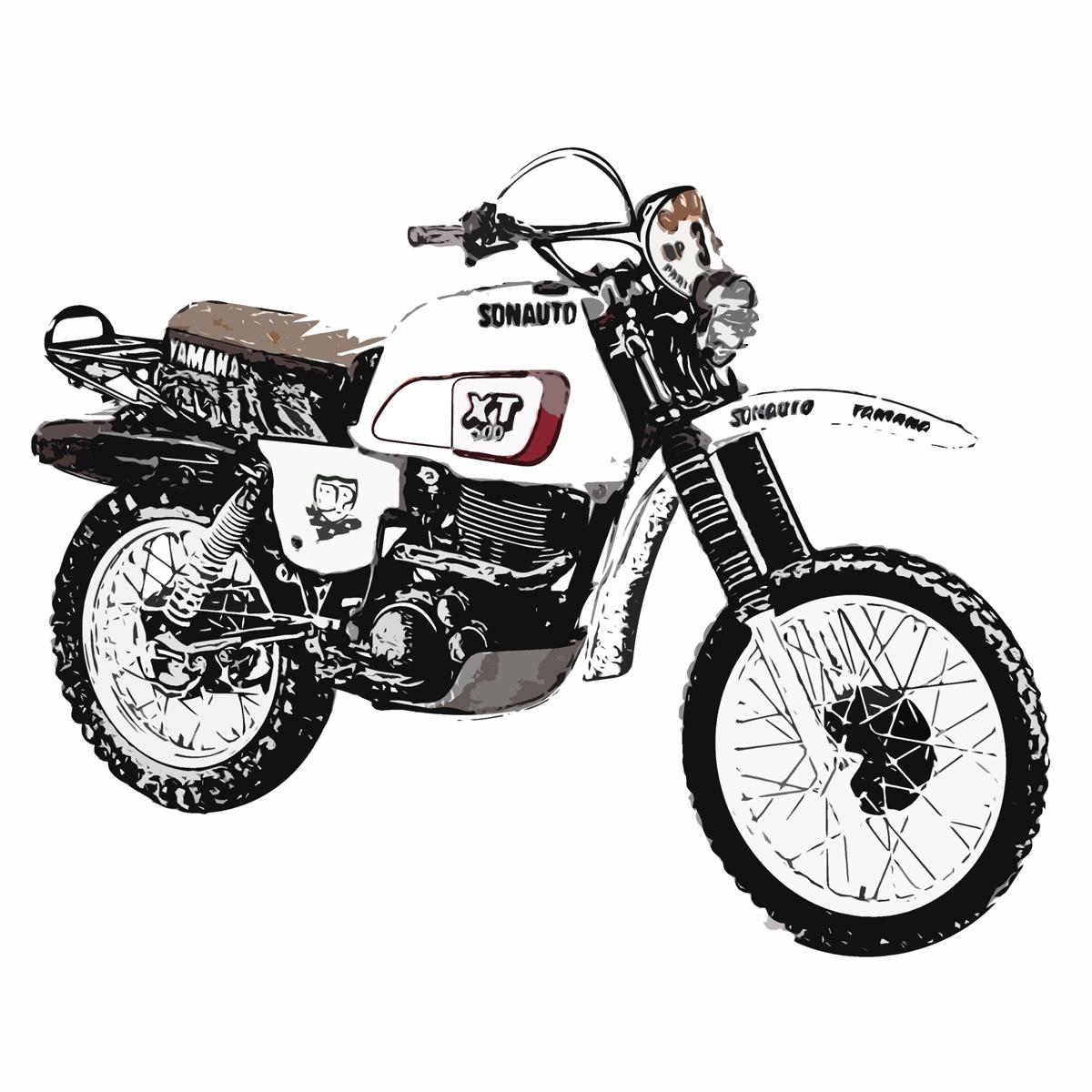 XT500 パリダカ
